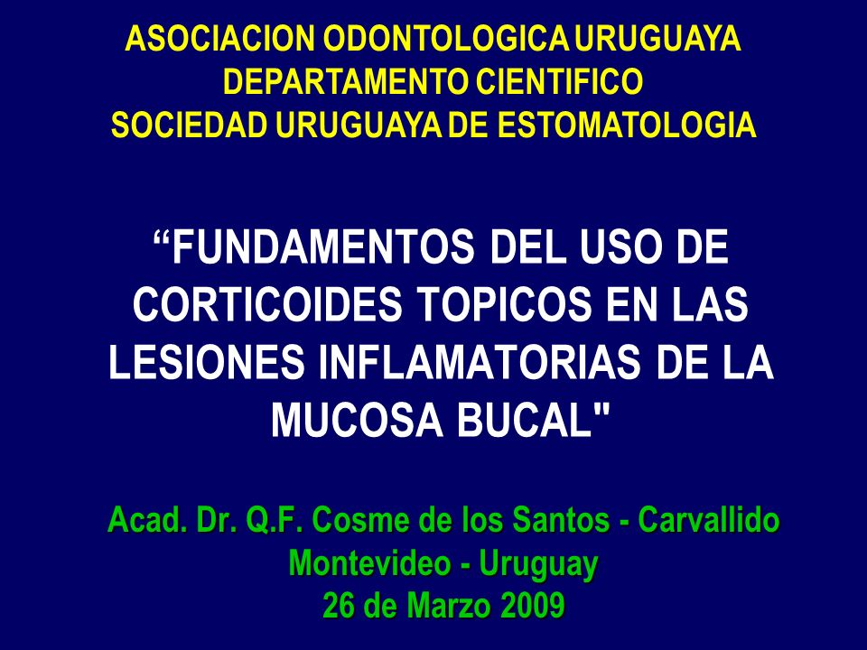 ASOCIACION ODONTOLOGICA URUGUAYA