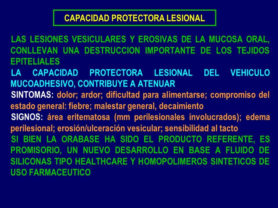 CAPACIDAD PROTECTORA LESIONAL