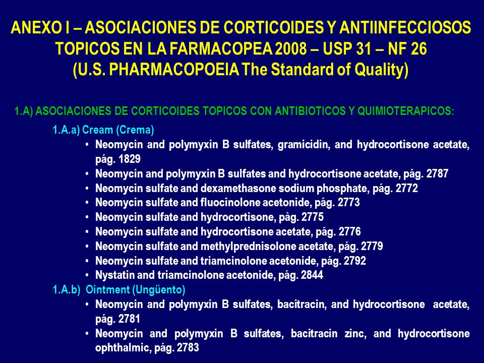 (U.S. PHARMACOPOEIA The Standard of Quality)