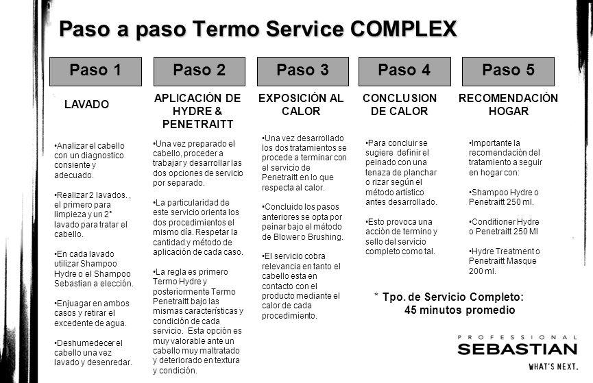 Paso a paso Termo Service COMPLEX