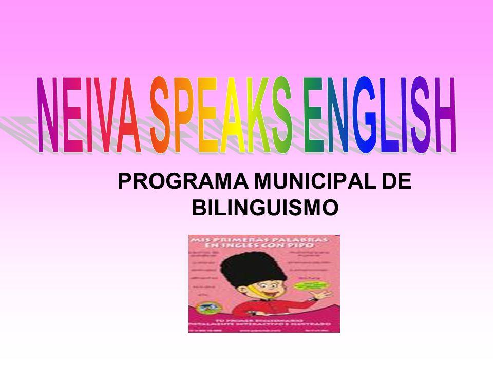 PROGRAMA MUNICIPAL DE BILINGUISMO