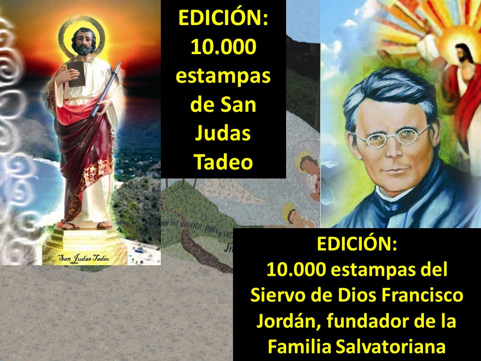 10.000 estampas de San Judas Tadeo