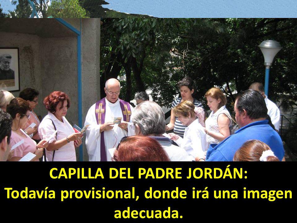 CAPILLA DEL PADRE JORDÁN: