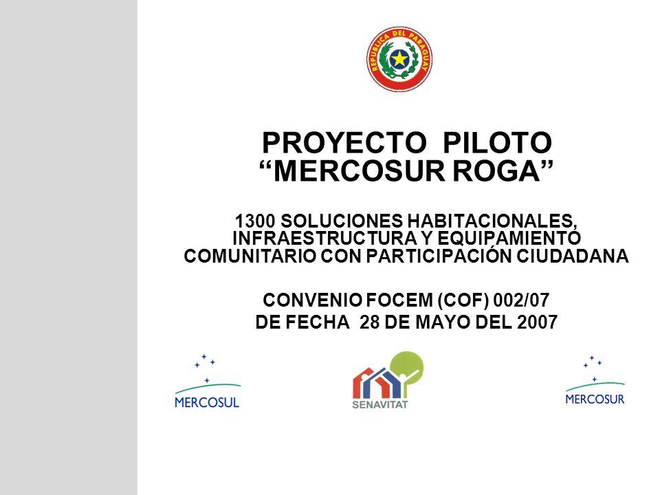 PROYECTO PILOTO MERCOSUR ROGA