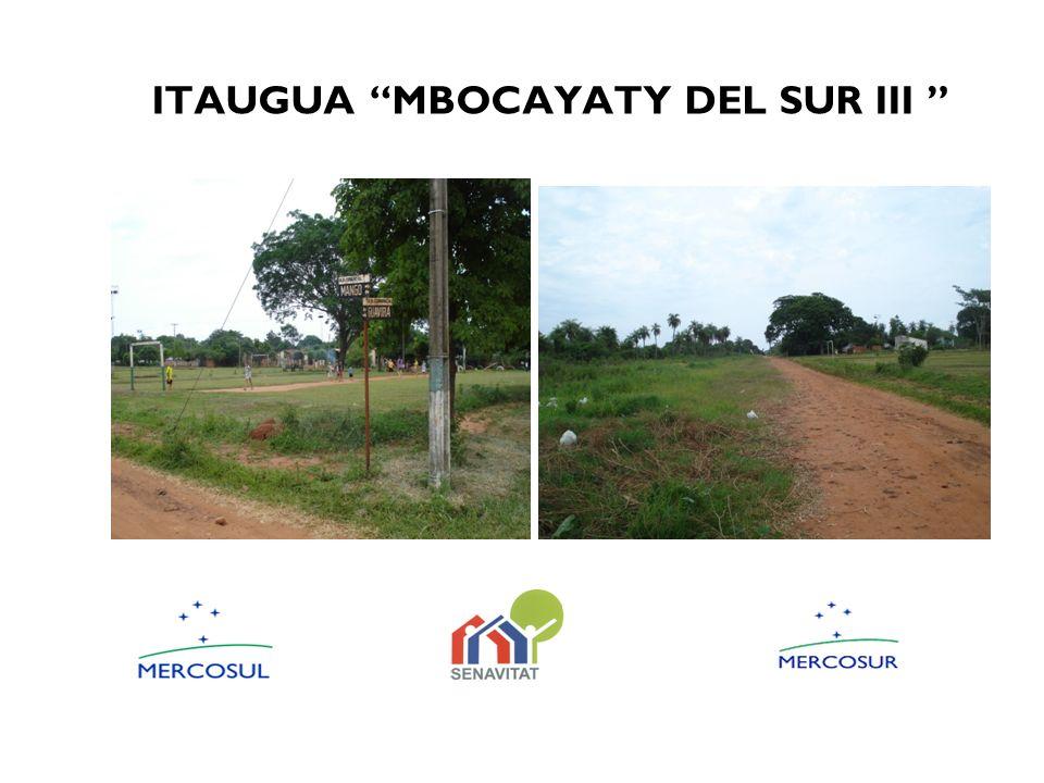 ITAUGUA MBOCAYATY DEL SUR III
