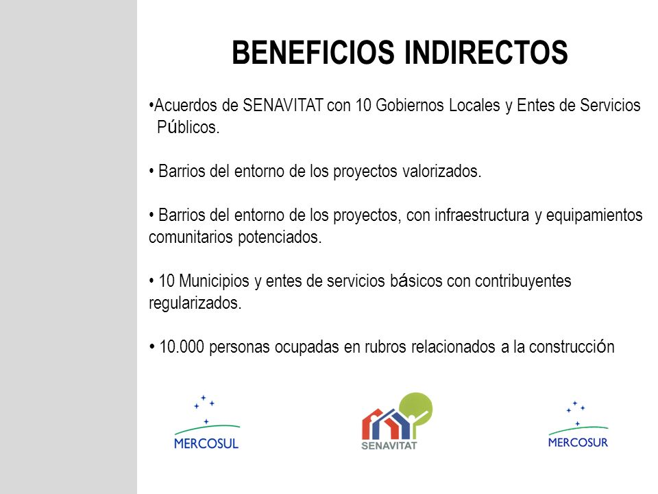 Beneficios Indirectos