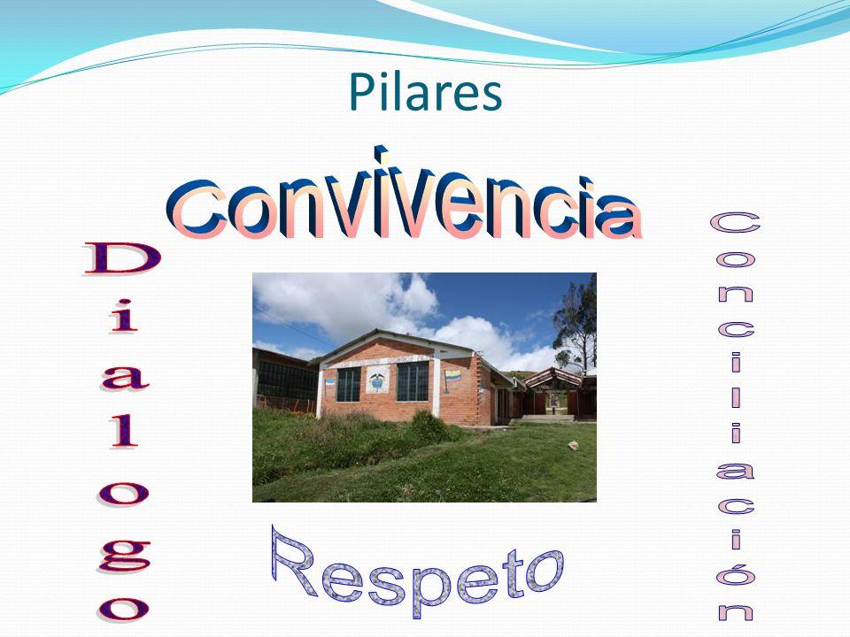 Pilares Convivencia Dialogo Conciliación Respeto