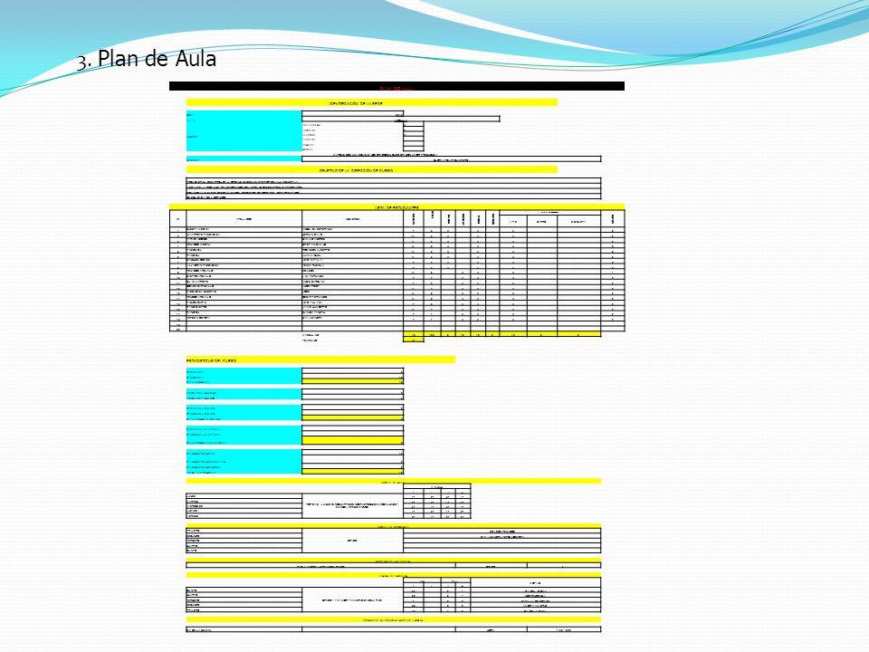 3. Plan de Aula PLAN DE AULA IDENTIFICACIÓN DE LA SEDE