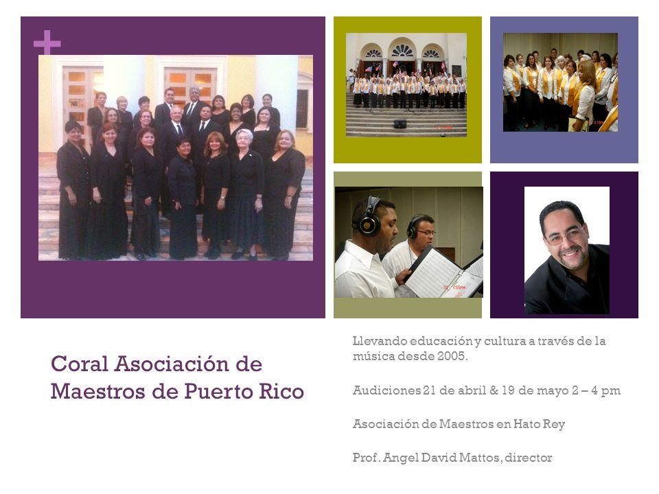Coral Asociación de Maestros de Puerto Rico
