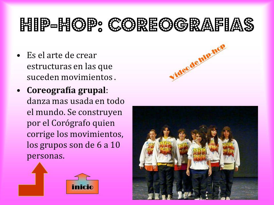 HIP-HOP: CoreografIas