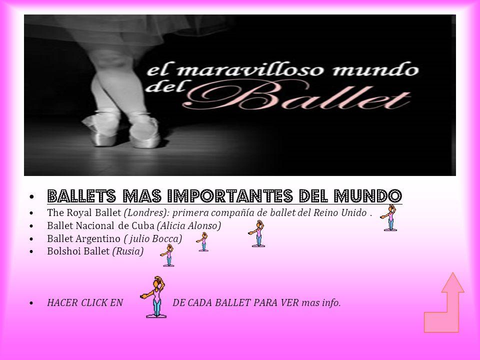 Ballets mAs importantes del mundo