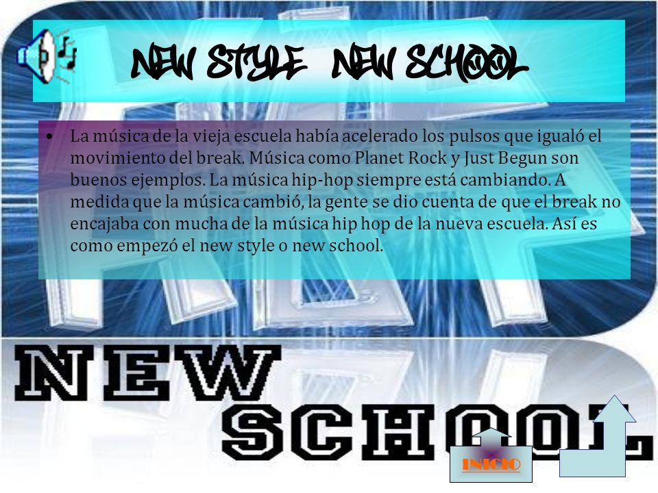 NEW STYLE/NEW SCHOOL