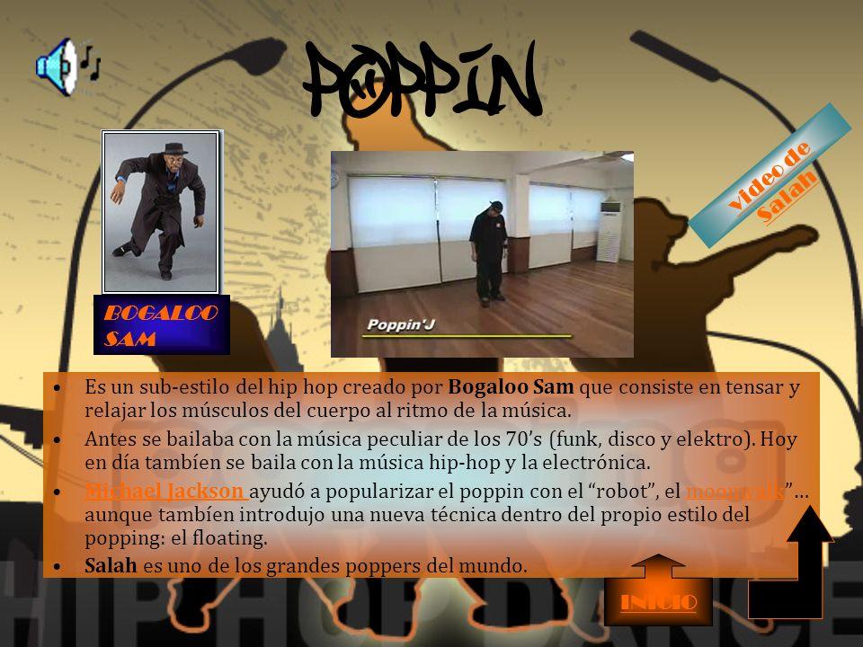 POPPIN' video de Salah BOGALOO SAM