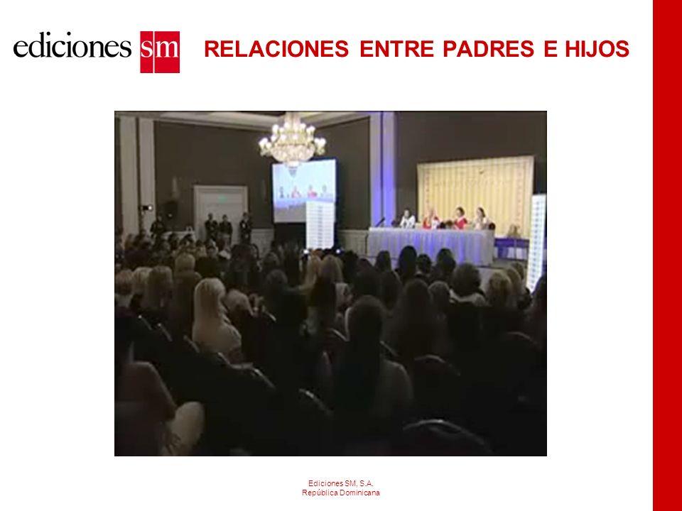 RELACIONES ENTRE PADRES E HIJOS