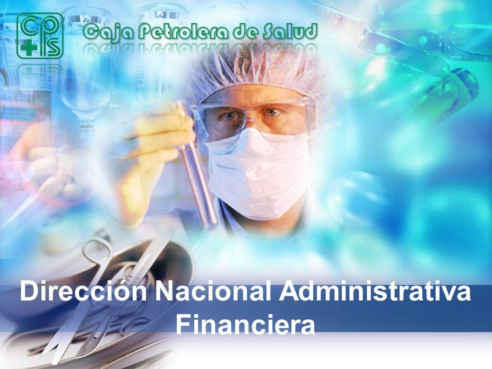 Dirección Nacional Administrativa Financiera