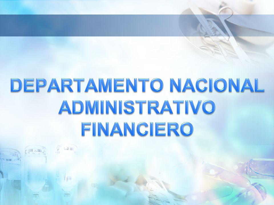 DEPARTAMENTO NACIONAL ADMINISTRATIVO FINANCIERO