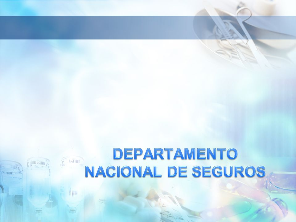 DEPARTAMENTO NACIONAL DE SEGUROS