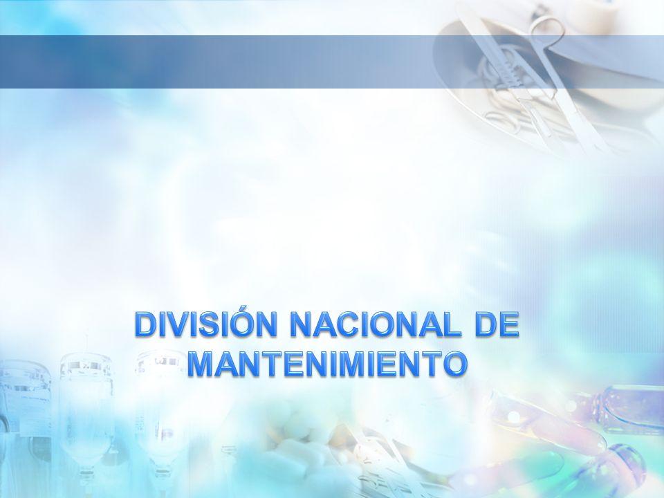 DIVISIÓN NACIONAL DE MANTENIMIENTO