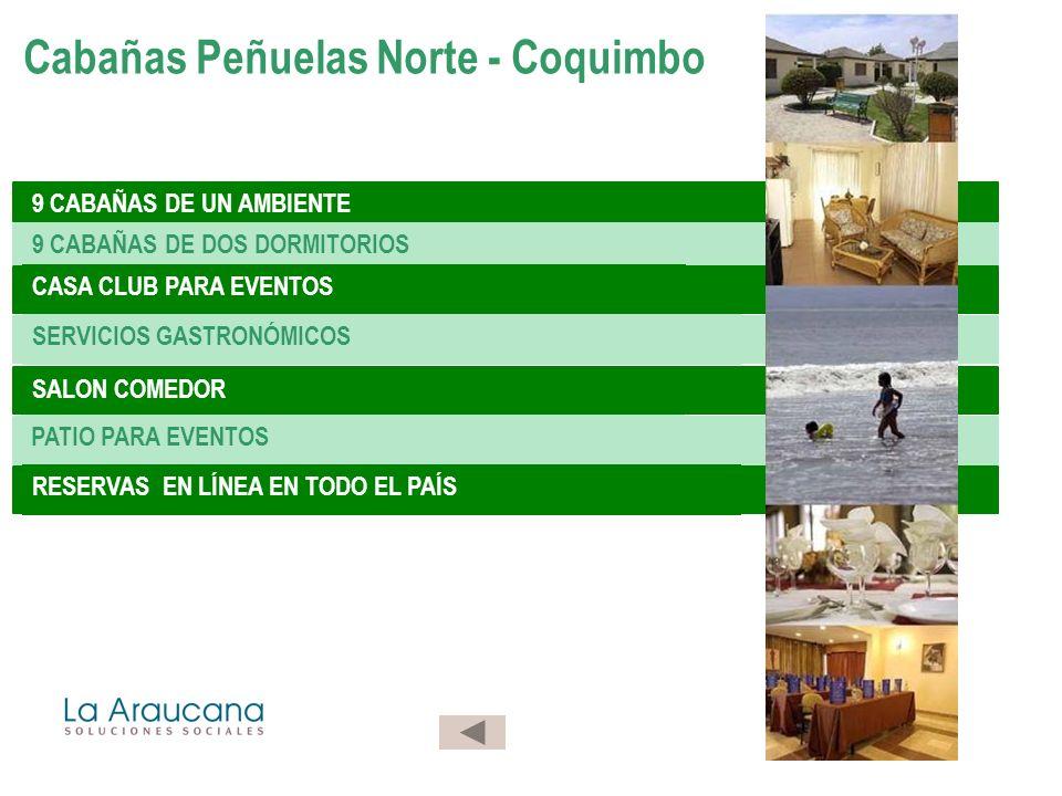 Cabañas Peñuelas Norte - Coquimbo