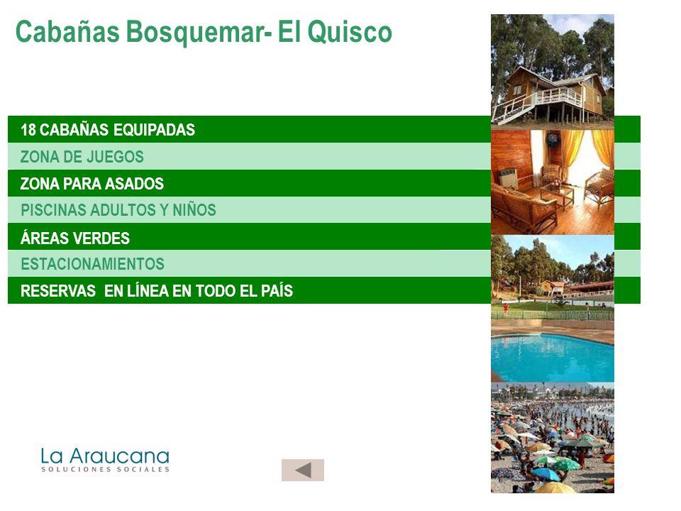 Cabañas Bosquemar- El Quisco