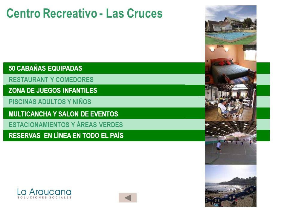 Centro Recreativo - Las Cruces