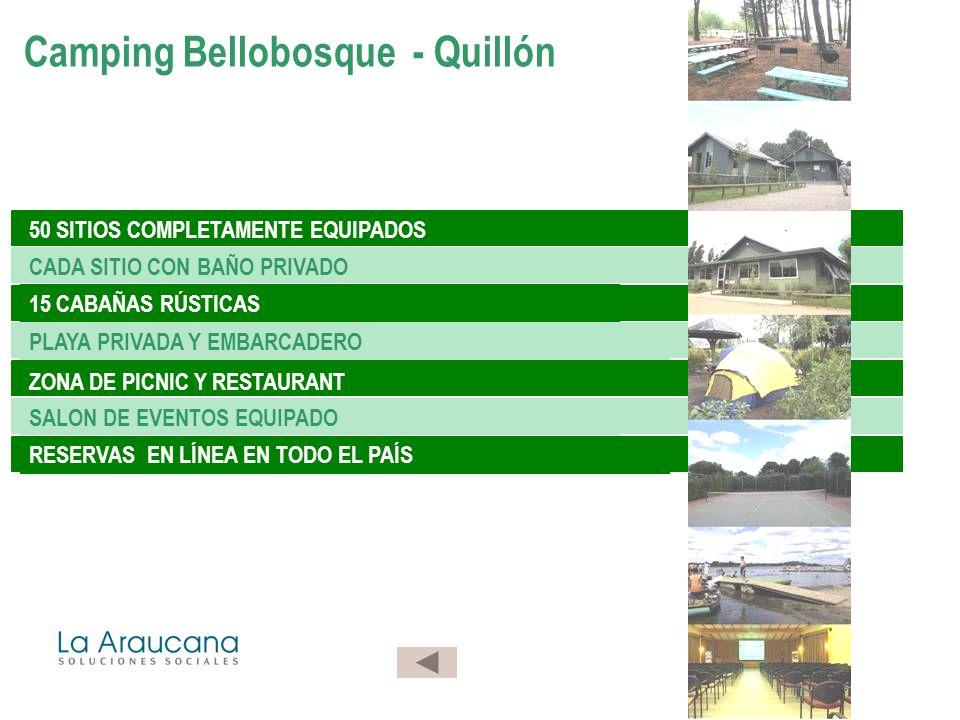 Camping Bellobosque - Quillón