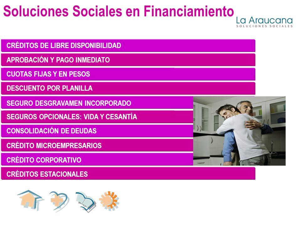 Soluciones Sociales en Financiamiento