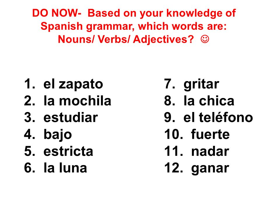 DO NOW- Based on your knowledge of