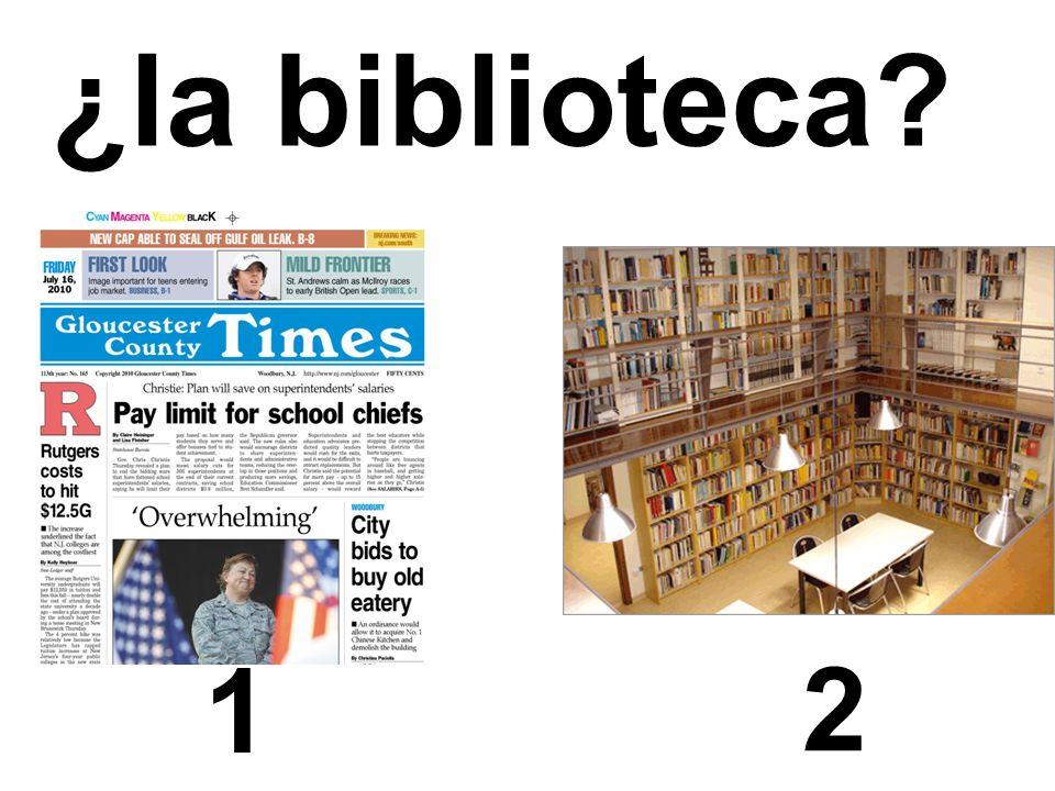 ¿la biblioteca 1 2