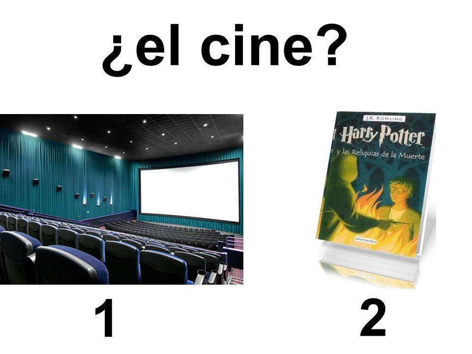¿el cine 1 2