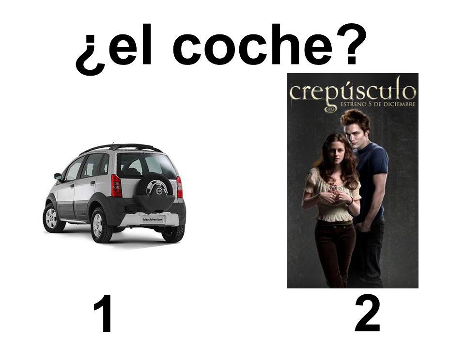 ¿el coche 1 2