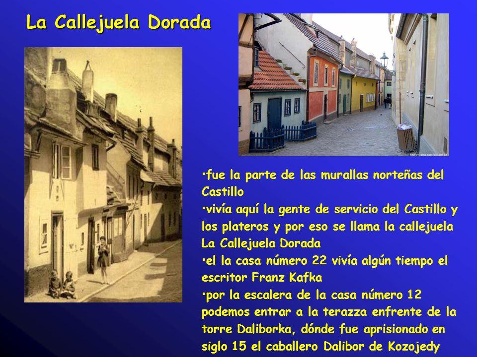 La Callejuela Dorada fue la parte de las murallas norteñas del Castillo.
