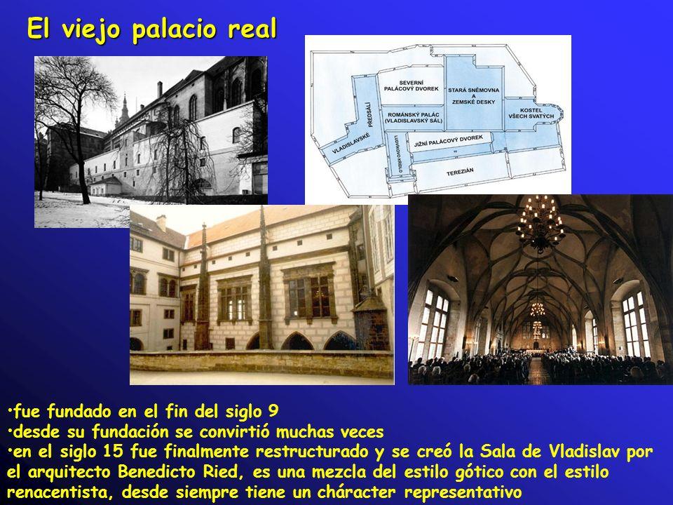 El viejo palacio real fue fundado en el fin del siglo 9