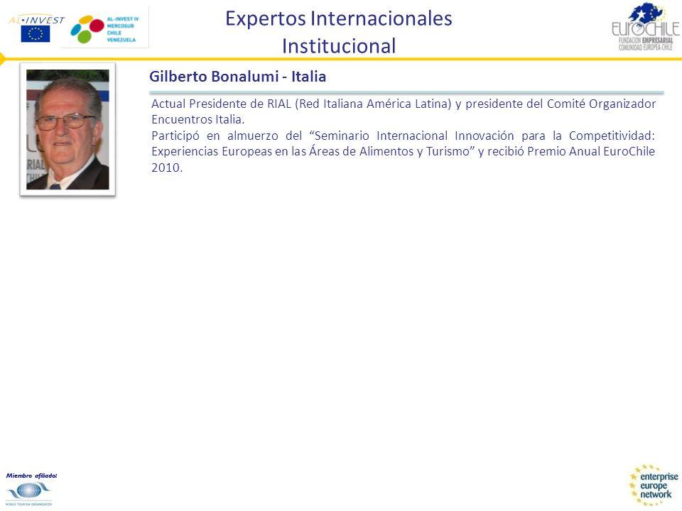 Expertos Internacionales