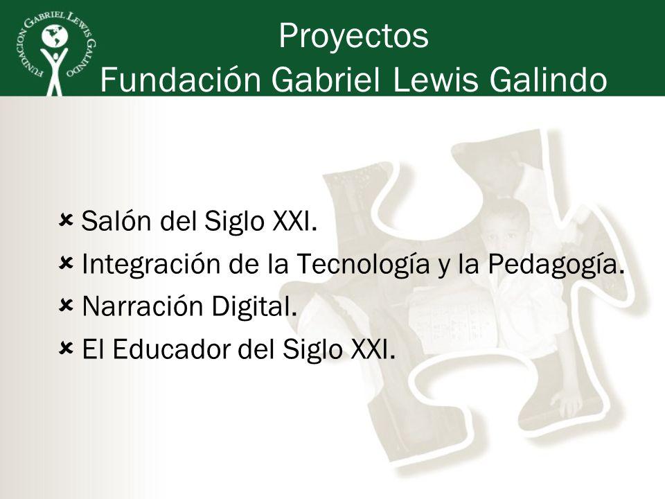 Proyectos Fundación Gabriel Lewis Galindo