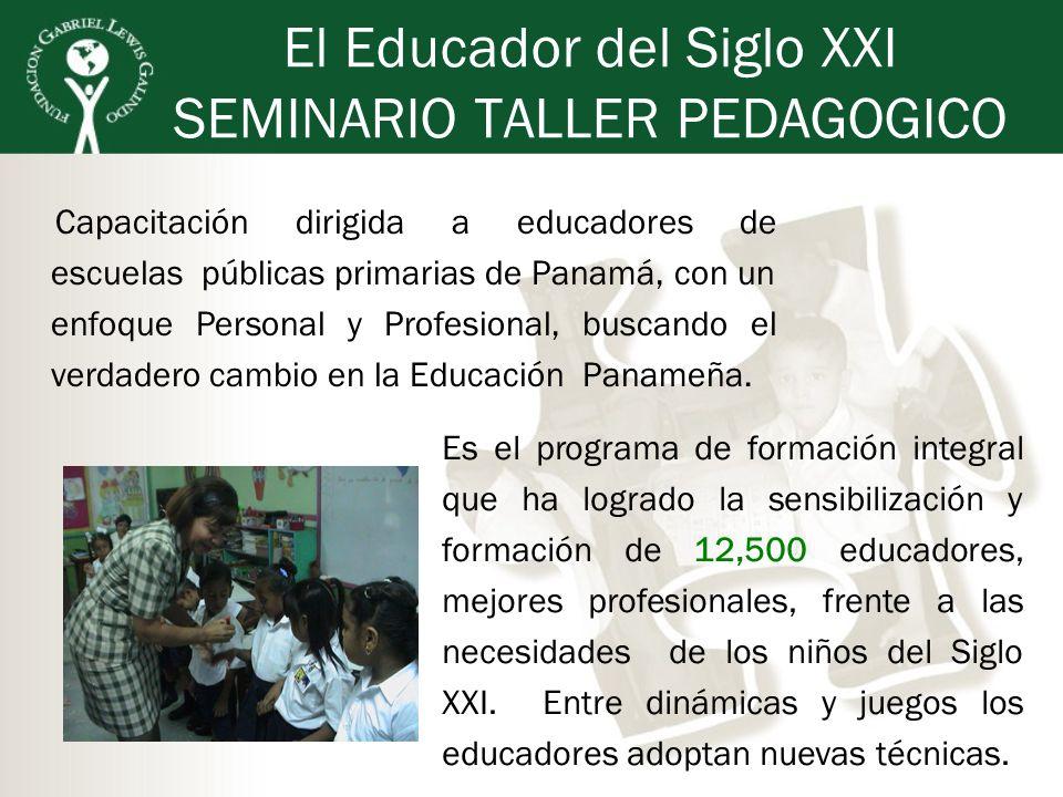 El Educador del Siglo XXI SEMINARIO TALLER PEDAGOGICO