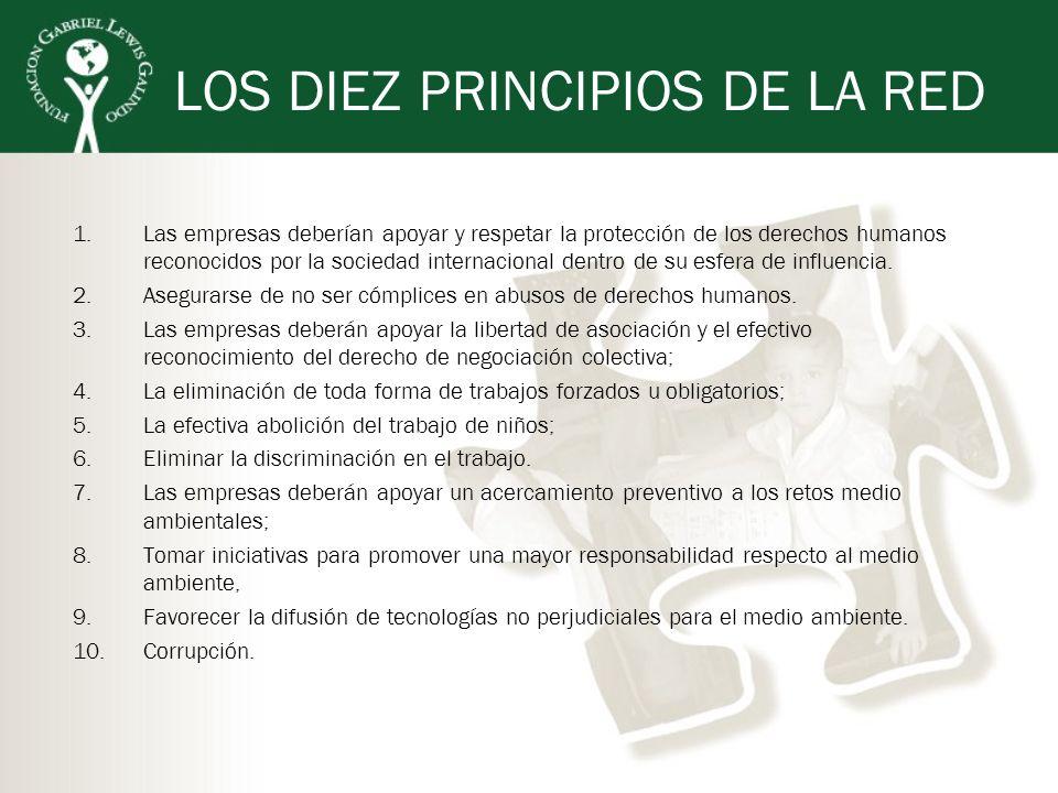 LOS DIEZ PRINCIPIOS DE LA RED
