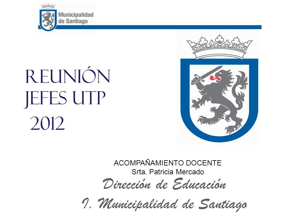 Reunión Jefes UTP 2012 Dirección de Educación