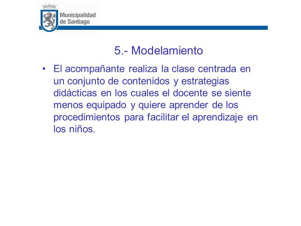 5.- Modelamiento