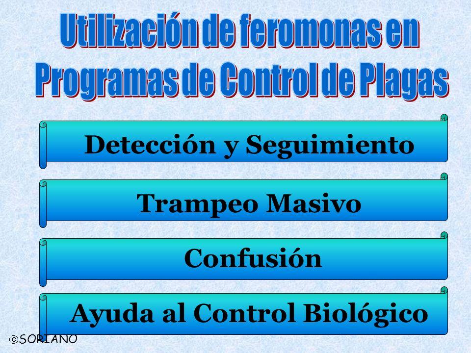 Utilización de feromonas en Programas de Control de Plagas