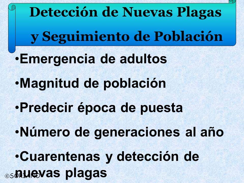 Detección de Nuevas Plagas y Seguimiento de Población