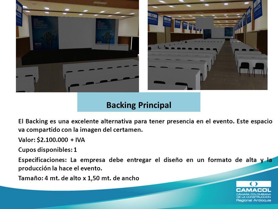 Backing Principal