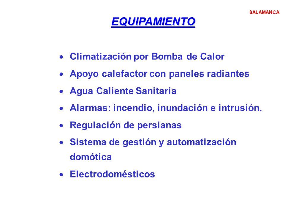 EQUIPAMIENTO Climatización por Bomba de Calor