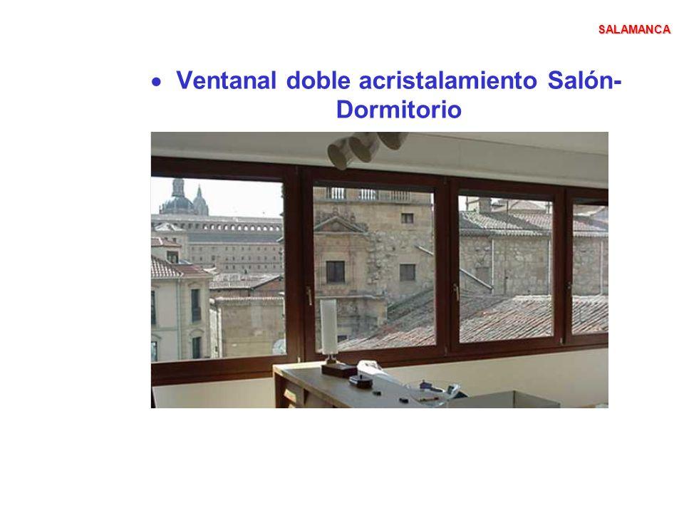 Ventanal doble acristalamiento Salón-Dormitorio