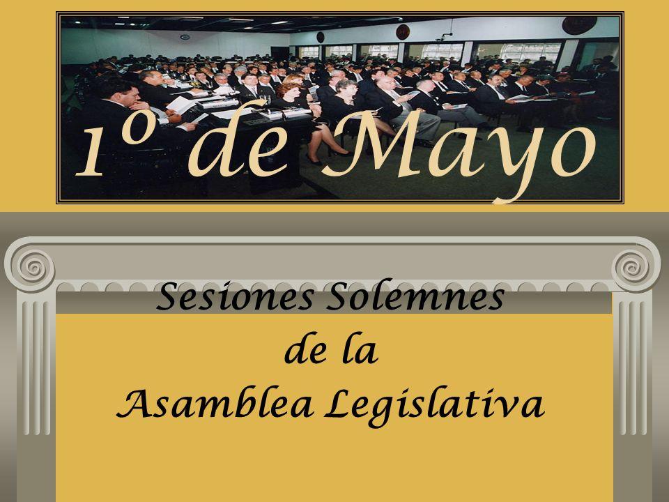 Sesiones Solemnes de la Asamblea Legislativa