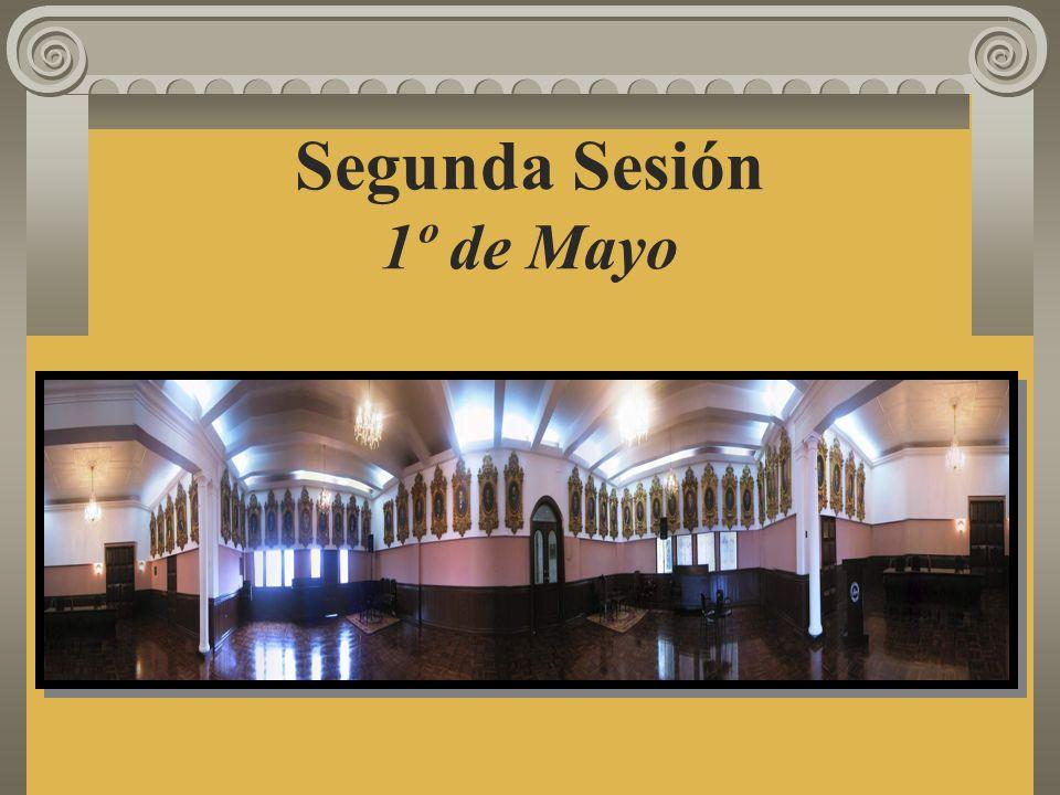 Segunda Sesión 1º de Mayo