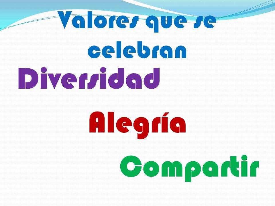 Valores que se celebran