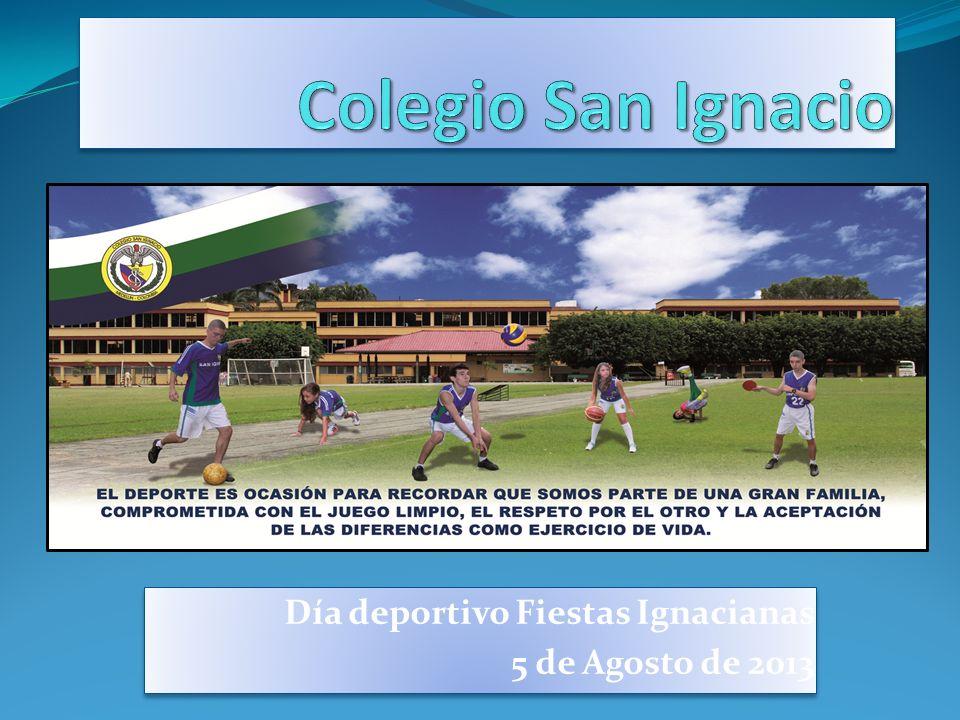 Día deportivo Fiestas Ignacianas 5 de Agosto de 2013