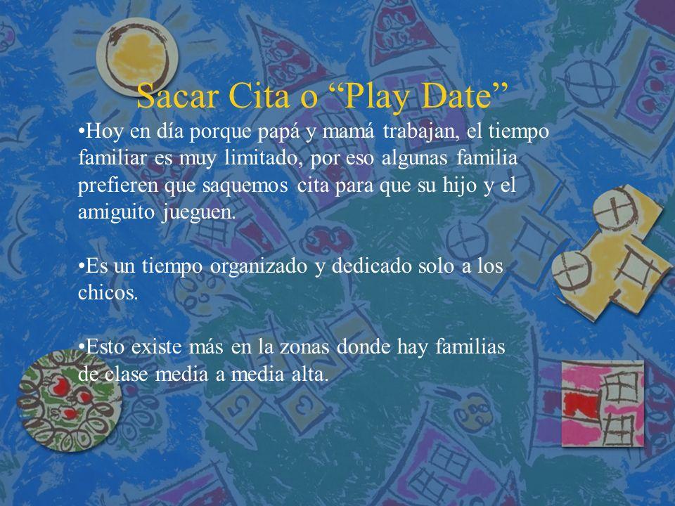 Sacar Cita o Play Date