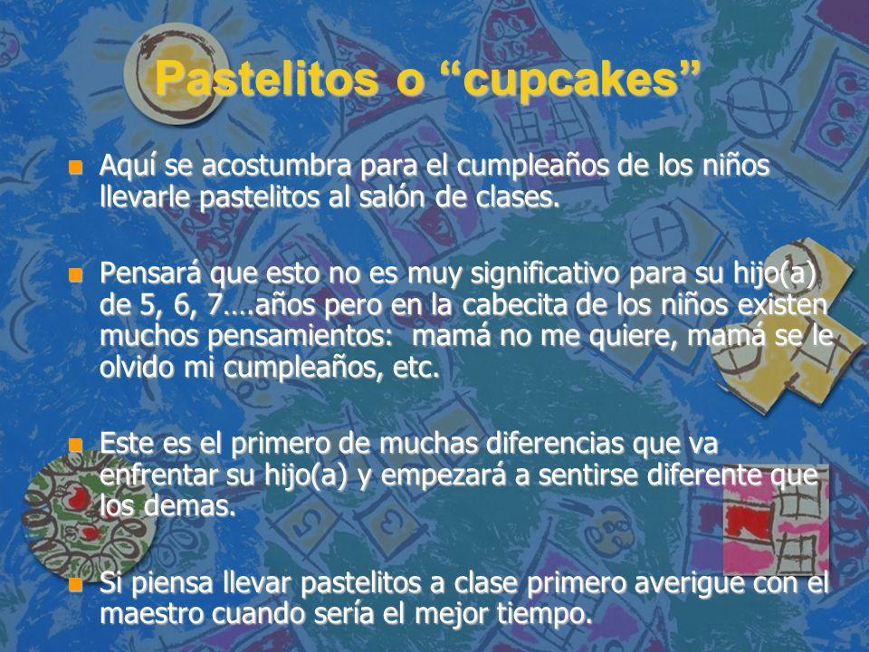 Pastelitos o cupcakes